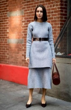 50 Stylish and Comfy Winter Dresses Ideas 17
