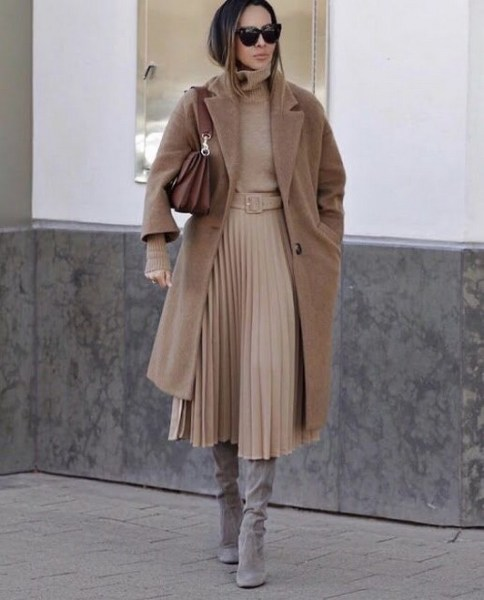 50 Stylish and Comfy Winter Dresses Ideas 19