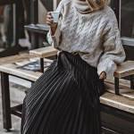 50 Stylish and Comfy Winter Dresses Ideas 25
