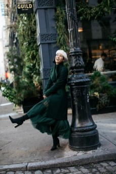 50 Stylish and Comfy Winter Dresses Ideas 36