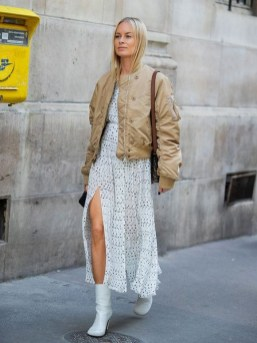 50 Stylish and Comfy Winter Dresses Ideas 37