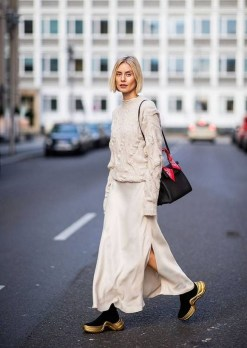 50 Stylish and Comfy Winter Dresses Ideas 43