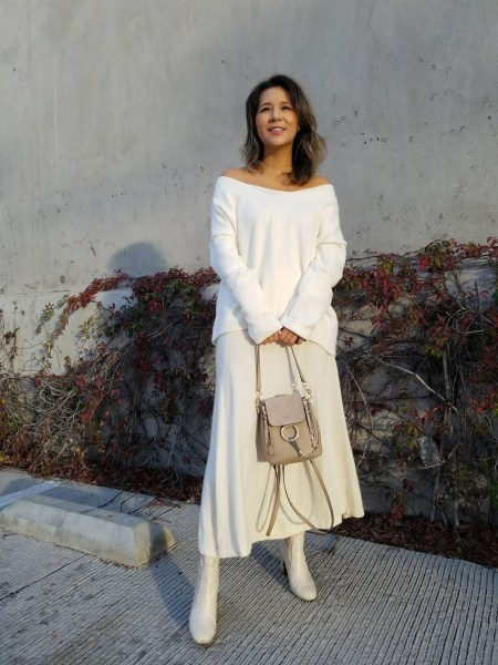 50 Stylish and Comfy Winter Dresses Ideas 48