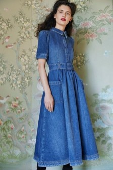 55 Casual Denim Dresses for Outing Ideas 29