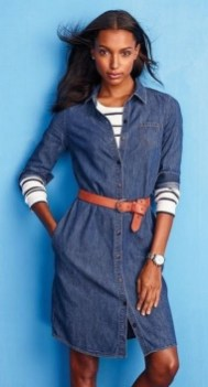 55 Casual Denim Dresses for Outing Ideas 35