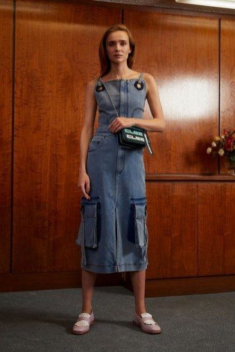 55 Casual Denim Dresses for Outing Ideas 46