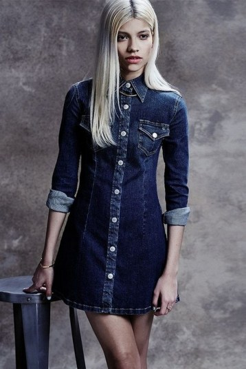 55 Casual Denim Dresses for Outing Ideas 6