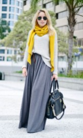 60 Adorable Yellow Outfit for Winter 18