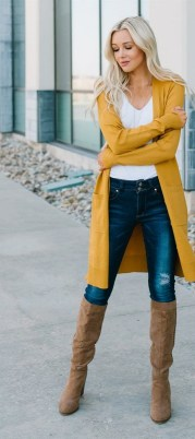 60 Adorable Yellow Outfit for Winter 23