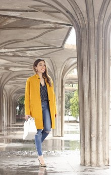 60 Adorable Yellow Outfit for Winter 29