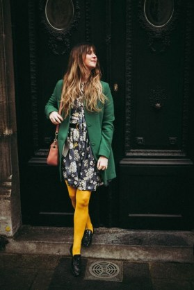 60 Adorable Yellow Outfit for Winter 35