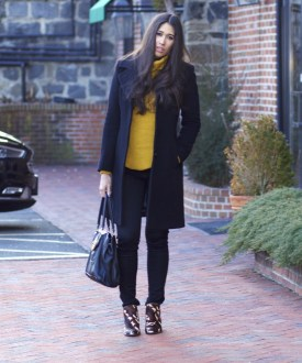 60 Adorable Yellow Outfit for Winter 49