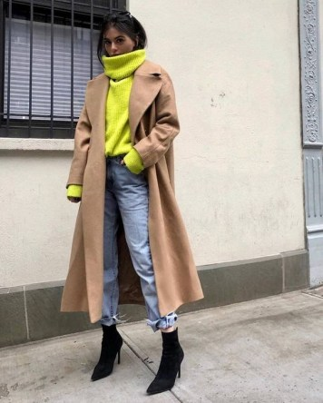 60 Adorable Yellow Outfit for Winter 54