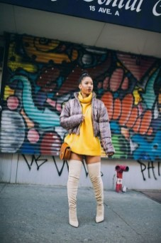 60 Adorable Yellow Outfit for Winter 55