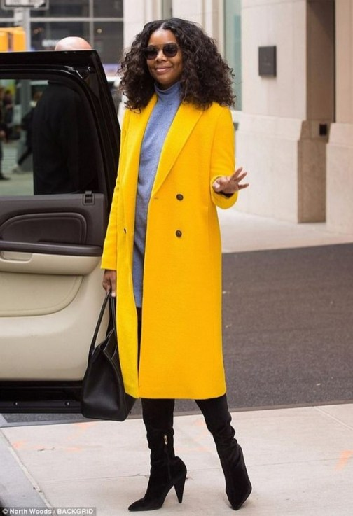 60 Adorable Yellow Outfit for Winter 59
