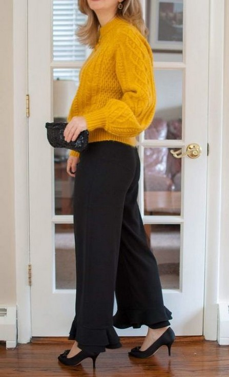 60 Adorable Yellow Outfit for Winter 60