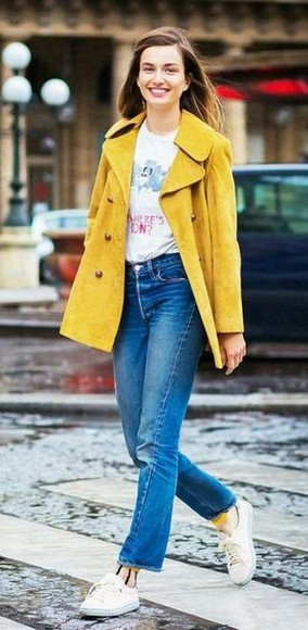 60 Adorable Yellow Outfit for Winter 61