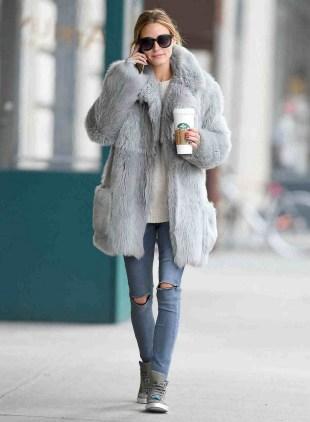 80 Fashionable Women Faux Fur Coats Look 1