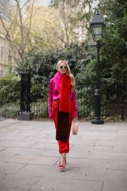 80 Fashionable Women Faux Fur Coats Look 10