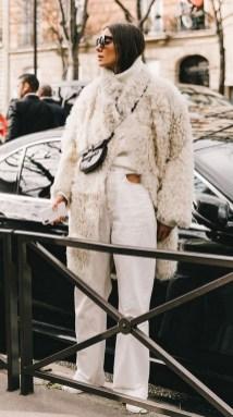 80 Fashionable Women Faux Fur Coats Look 45