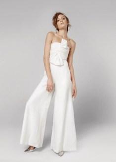 80 Simple and Glam Jumpsuit Wedding Dresses Ideas 16