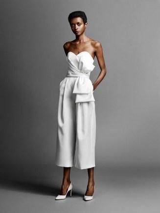 80 Simple and Glam Jumpsuit Wedding Dresses Ideas 2