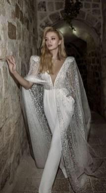 80 Simple and Glam Jumpsuit Wedding Dresses Ideas 23