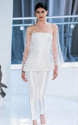 80 Simple and Glam Jumpsuit Wedding Dresses Ideas 50