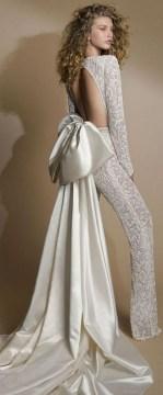 80 Simple and Glam Jumpsuit Wedding Dresses Ideas 64