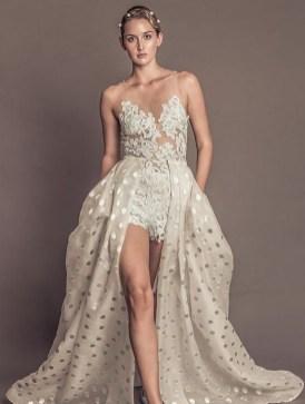 80 Simple and Glam Jumpsuit Wedding Dresses Ideas 76