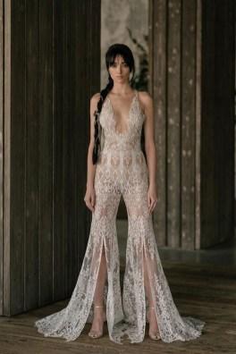 80 Simple and Glam Jumpsuit Wedding Dresses Ideas 82