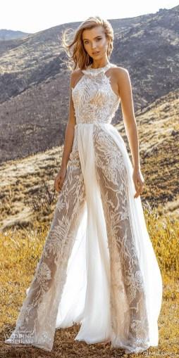80 Simple and Glam Jumpsuit Wedding Dresses Ideas 84