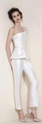 80 Simple and Glam Jumpsuit Wedding Dresses Ideas 87