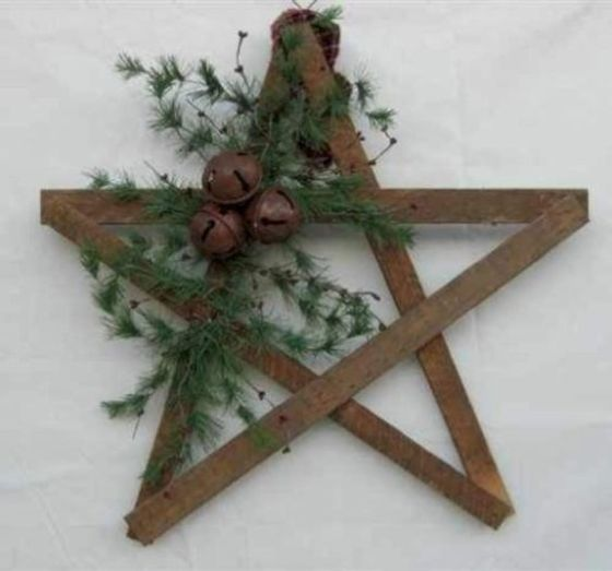 How Stunning Rustic Christmas Decorations Ideas 13