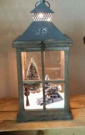 How Stunning Rustic Christmas Decorations Ideas 17