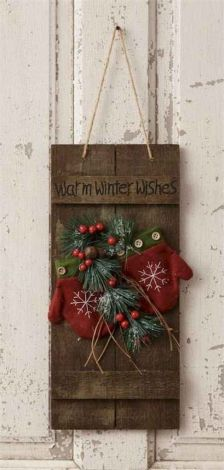 How Stunning Rustic Christmas Decorations Ideas 24