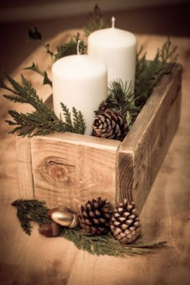 How Stunning Rustic Christmas Decorations Ideas 36