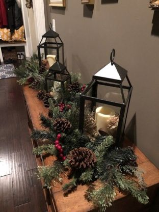 How Stunning Rustic Christmas Decorations Ideas 37