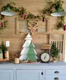 How Stunning Rustic Christmas Decorations Ideas 54