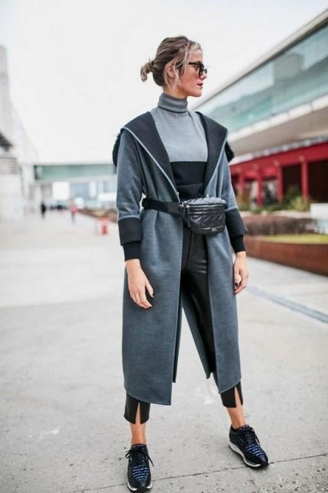 40 How to Wear Waist Bags Ideas 22
