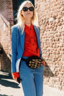 40 How to Wear Waist Bags Ideas 26