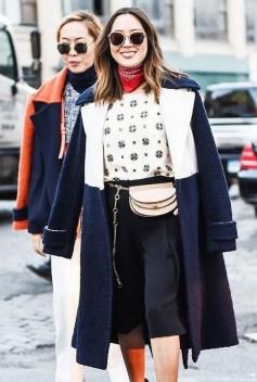 40 How to Wear Waist Bags Ideas 28
