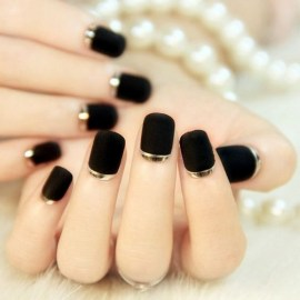 47 Simple Nail Art Design for This Winter Season Inspiration 11