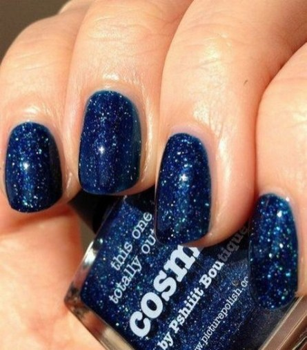 47 Simple Nail Art Design for This Winter Season Inspiration 28