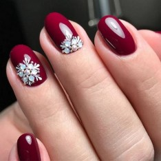 47 Simple Nail Art Design for This Winter Season Inspiration 33