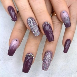 47 Simple Nail Art Design for This Winter Season Inspiration 9