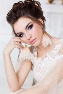 50 Bridal Smokey Eye Makeup Ideas 14