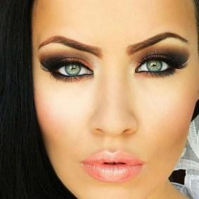 50 Bridal Smokey Eye Makeup Ideas 56