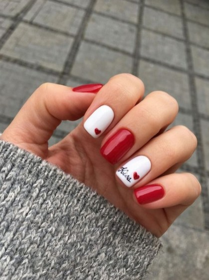 50 Nail Art Ideas for Valentines Day You Need to See 14