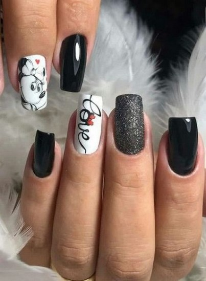 50 Nail Art Ideas for Valentines Day You Need to See 41